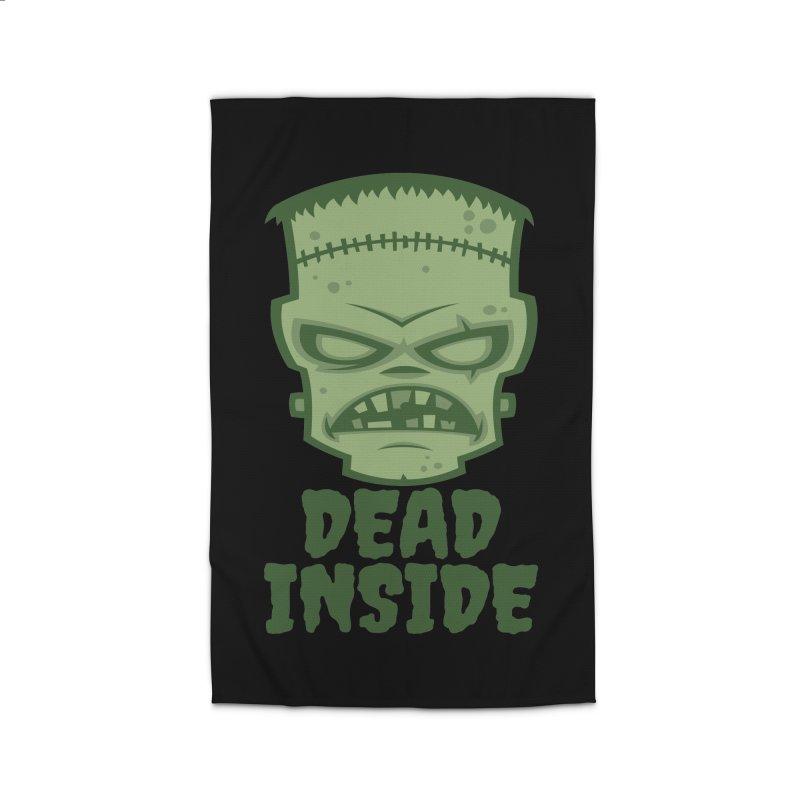 Dead Inside Frankenstein Monster Home Rug by Fizzgig's Artist Shop