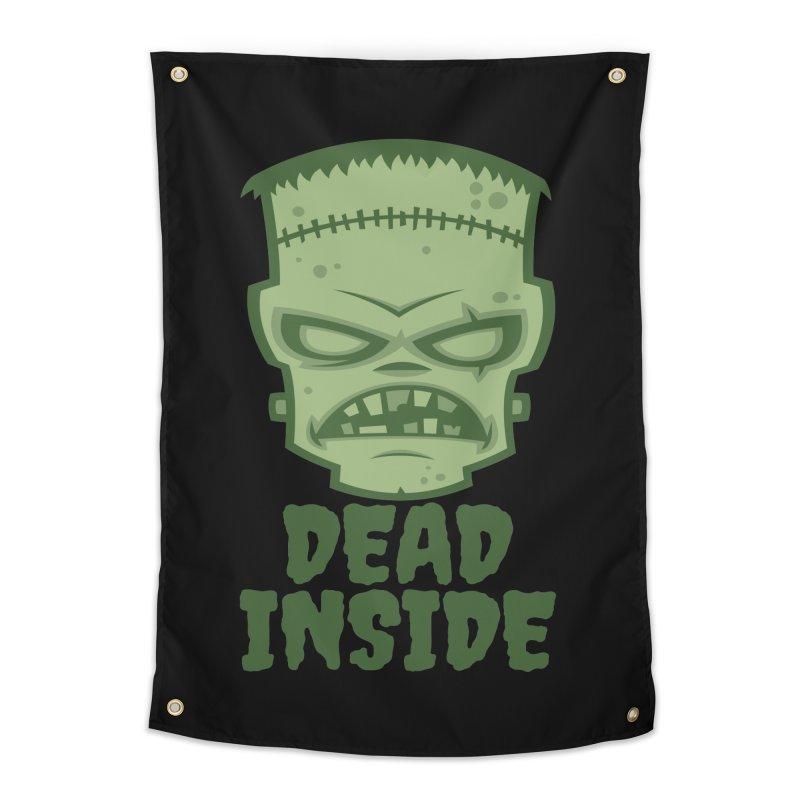 Dead Inside Frankenstein Monster Home Tapestry by Fizzgig's Artist Shop