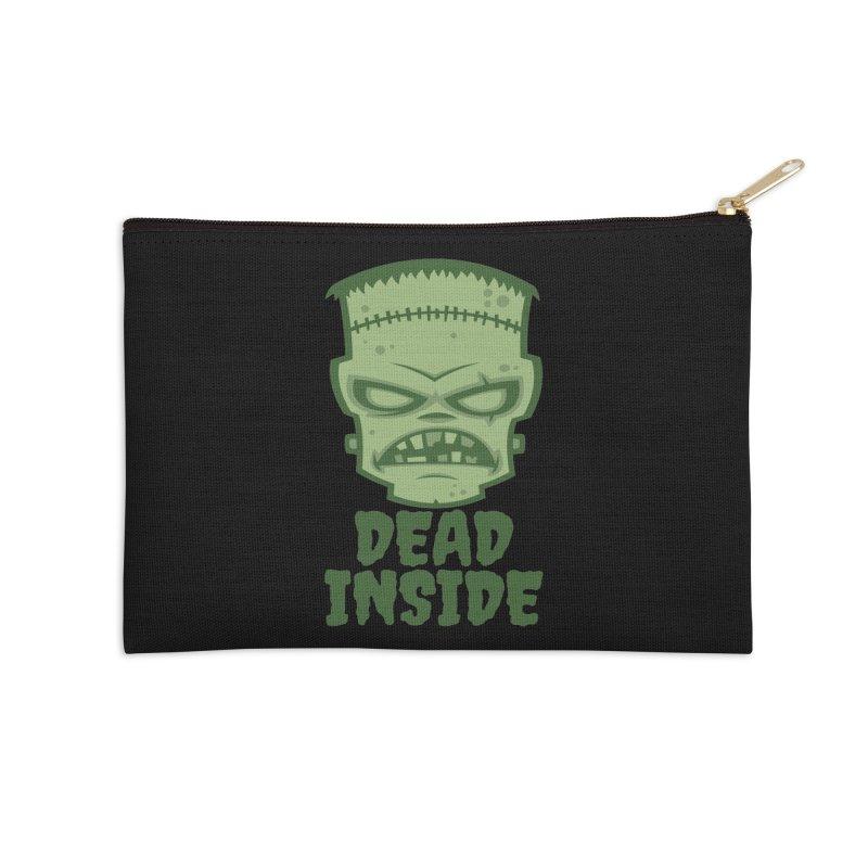 Dead Inside Frankenstein Monster Accessories Zip Pouch by Fizzgig's Artist Shop