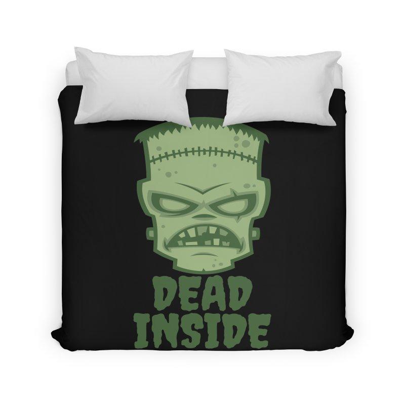 Dead Inside Frankenstein Monster Home Duvet by Fizzgig's Artist Shop