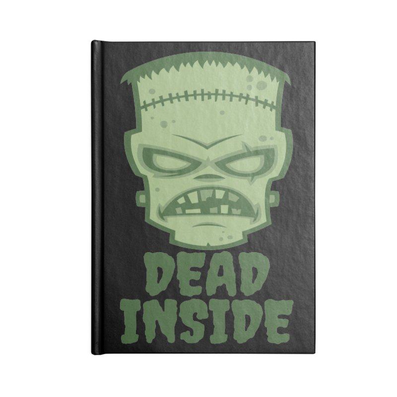 Dead Inside Frankenstein Monster Accessories Blank Journal Notebook by Fizzgig's Artist Shop