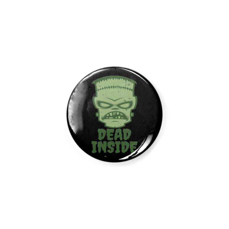 Dead Inside Frankenstein Monster Accessories Button by Fizzgig's Artist Shop