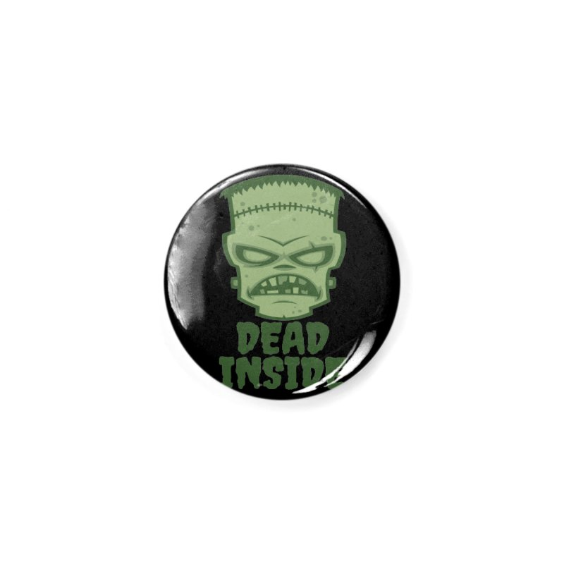 Dead Inside Frankenstein Monster Accessories Button by Fizzgig's Artist Shop