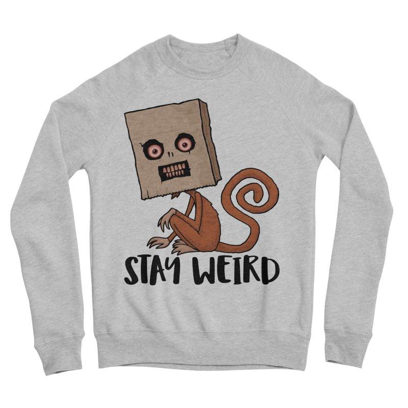 Stay Weird Sack Monkey Men's Sponge Fleece Sweatshirt by Fizzgig's Artist Shop