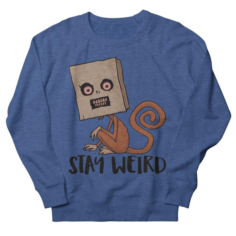 Stay Weird Sack Monkey Men's Sweatshirt by Fizzgig's Artist Shop