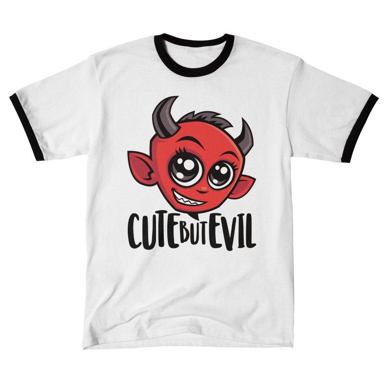 Cute But Evil Women's T-Shirt by Fizzgig's Artist Shop