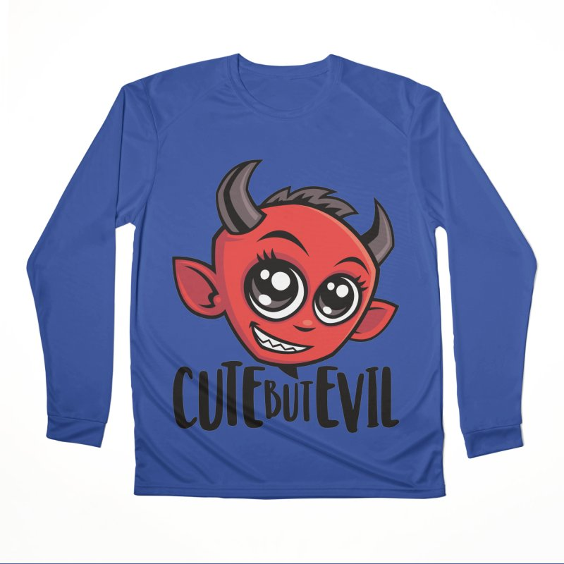 Cute But Evil Women's Performance Unisex Longsleeve T-Shirt by Fizzgig's Artist Shop