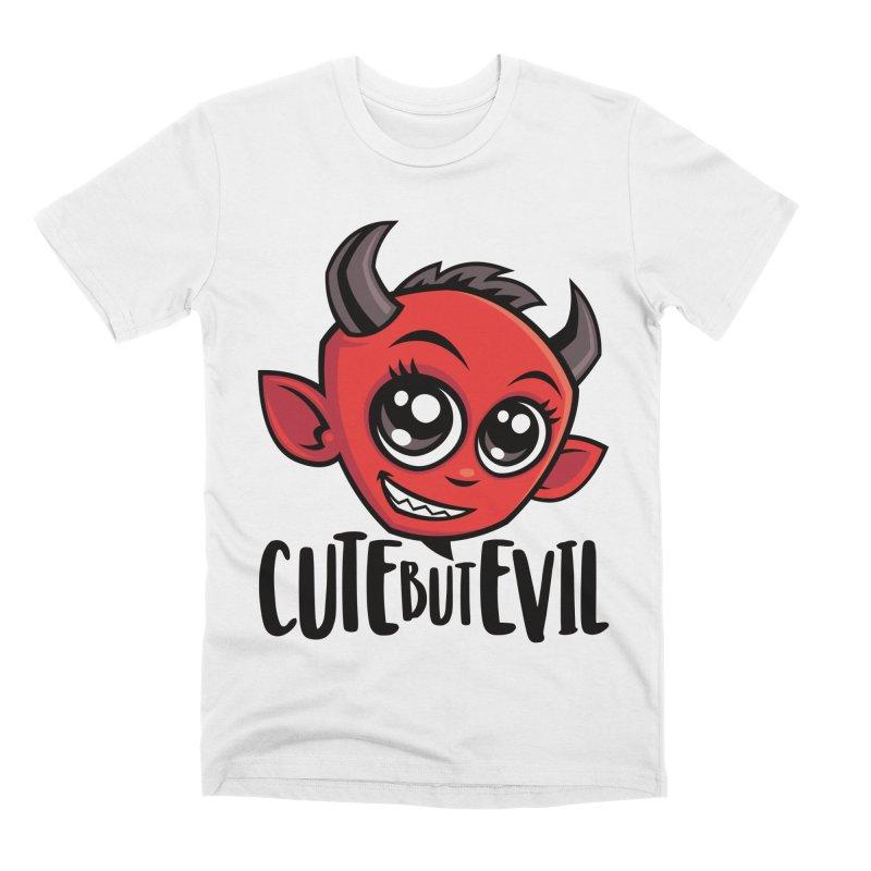 Cute But Evil Men's T-Shirt by Fizzgig's Artist Shop