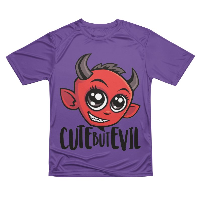 Cute But Evil Men's Performance T-Shirt by Fizzgig's Artist Shop