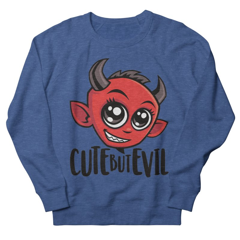 Cute But Evil Men's Sweatshirt by Fizzgig's Artist Shop