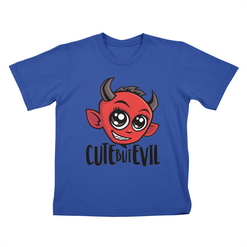 Cute But Evil Kids T-Shirt by Fizzgig's Artist Shop