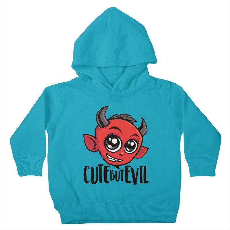 Cute But Evil Kids Toddler Pullover Hoody by Fizzgig's Artist Shop