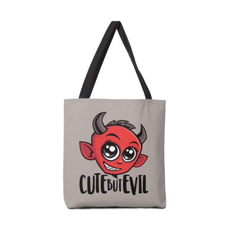 Cute But Evil Accessories Tote Bag Bag by Fizzgig's Artist Shop