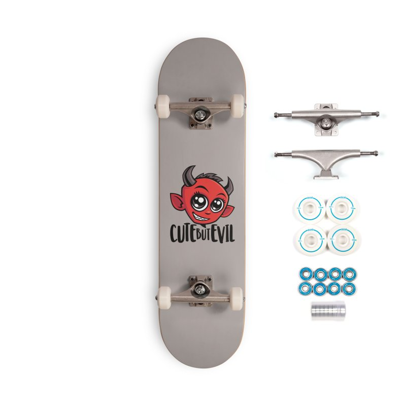 Cute But Evil Accessories Complete - Basic Skateboard by Fizzgig's Artist Shop