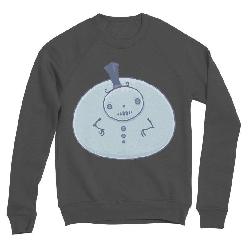 Pudgy Snowman Men's Sponge Fleece Sweatshirt by Fizzgig's Artist Shop