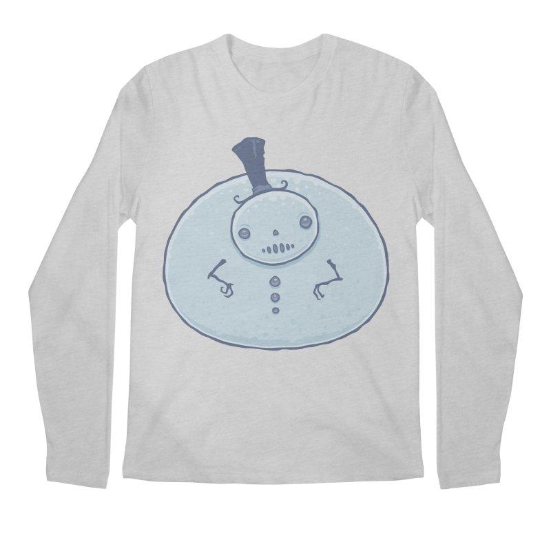 Pudgy Snowman Men's Regular Longsleeve T-Shirt by Fizzgig's Artist Shop