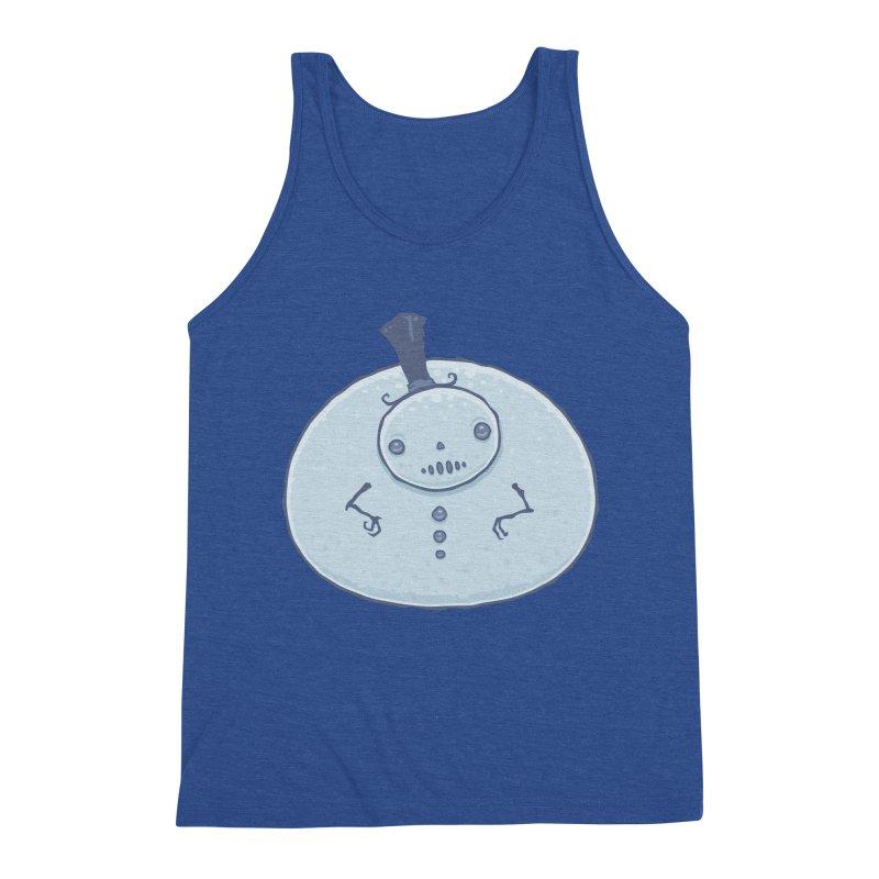 Pudgy Snowman Men's Tank by Fizzgig's Artist Shop