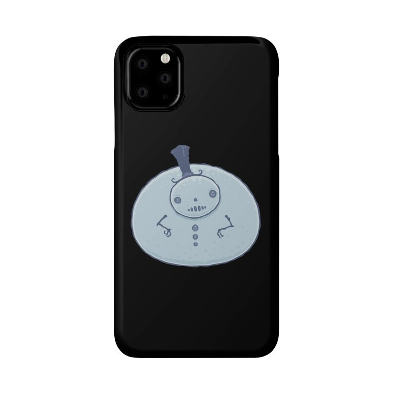 Pudgy Snowman Accessories Phone Case by Fizzgig's Artist Shop