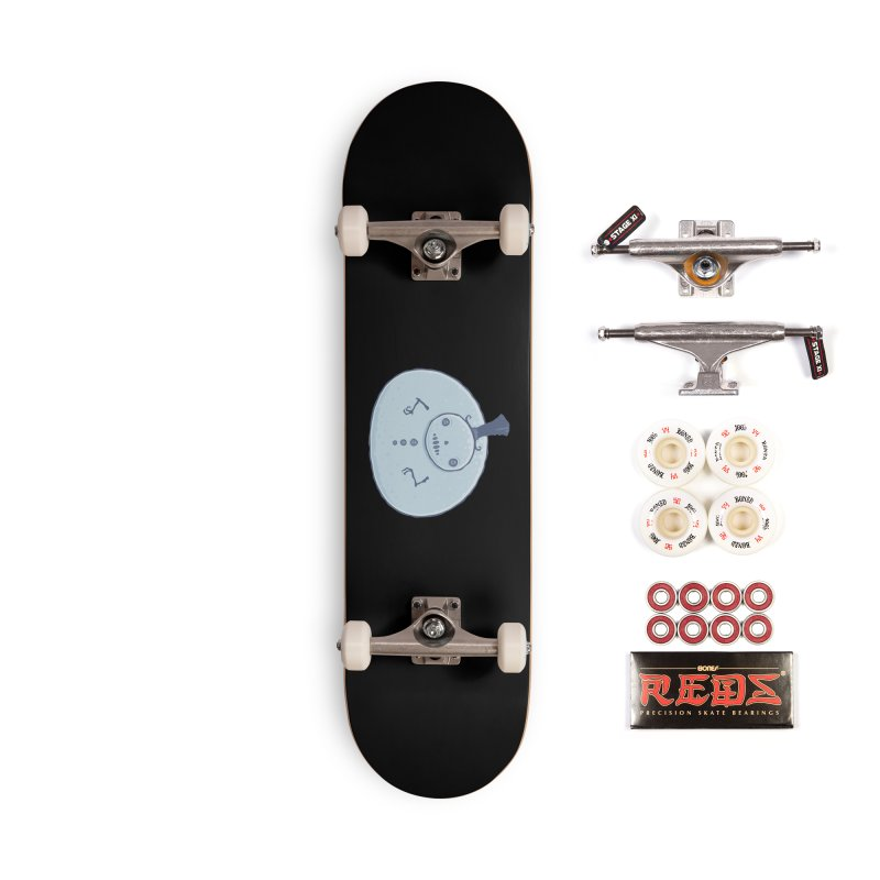 Pudgy Snowman Accessories Complete - Pro Skateboard by Fizzgig's Artist Shop