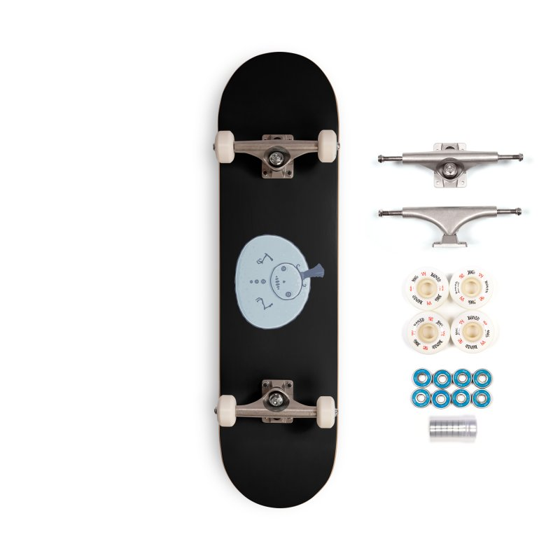 Pudgy Snowman Accessories Complete - Premium Skateboard by Fizzgig's Artist Shop