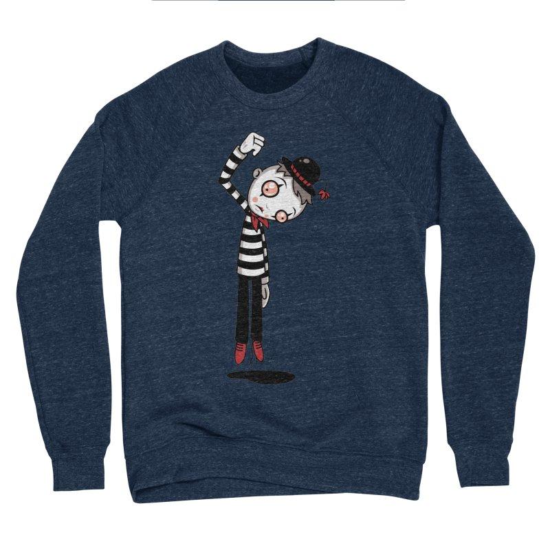 Bestest Mime Ever Women's Sponge Fleece Sweatshirt by Fizzgig's Artist Shop