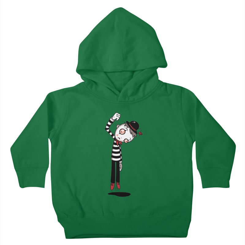 Bestest Mime Ever Kids Toddler Pullover Hoody by Fizzgig's Artist Shop