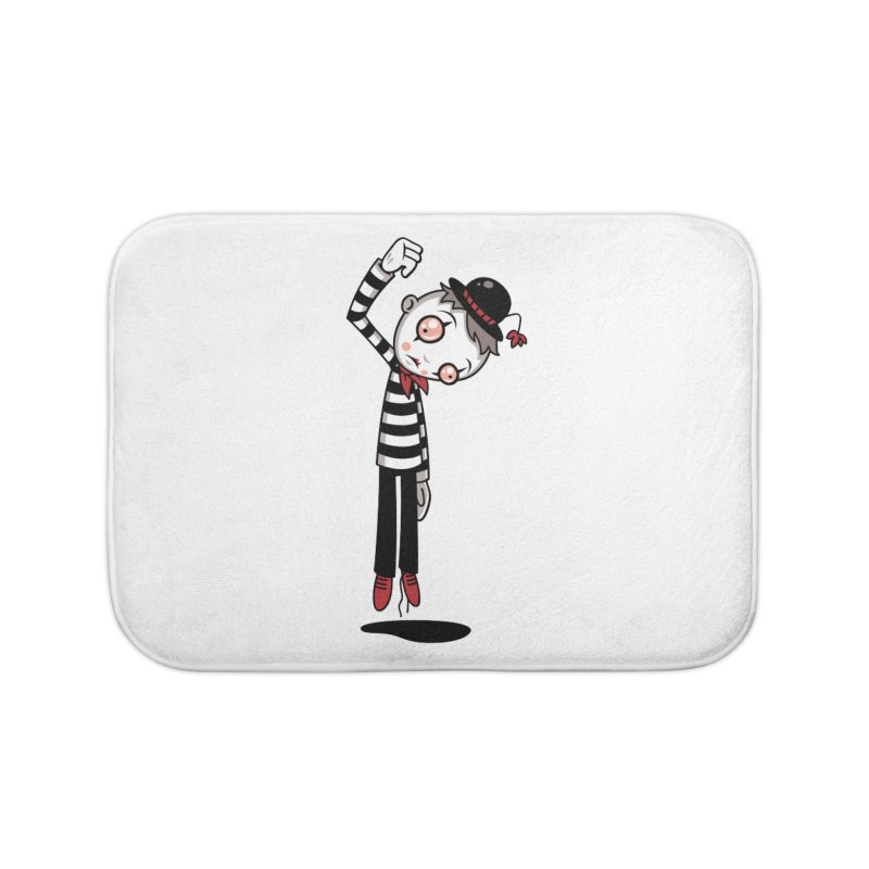 Bestest Mime Ever Home Bath Mat by Fizzgig's Artist Shop