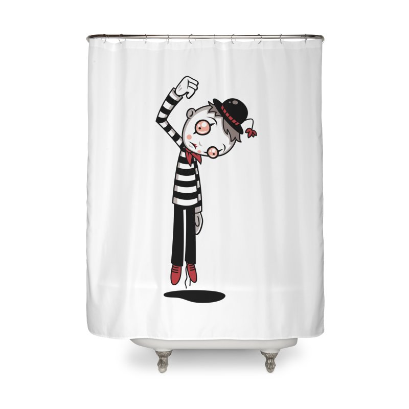 Bestest Mime Ever Home Shower Curtain by Fizzgig's Artist Shop