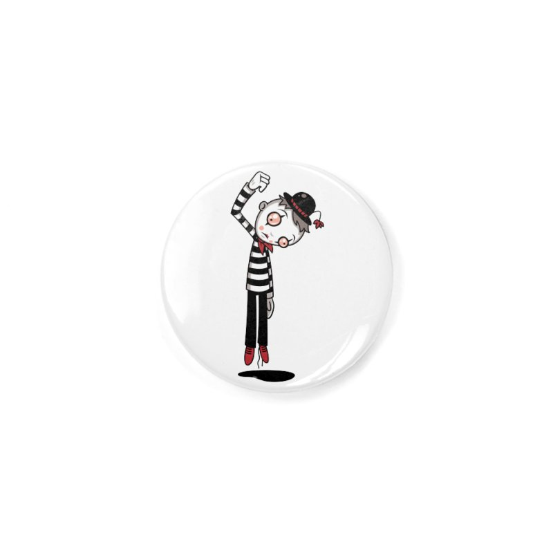 Bestest Mime Ever Accessories Button by Fizzgig's Artist Shop