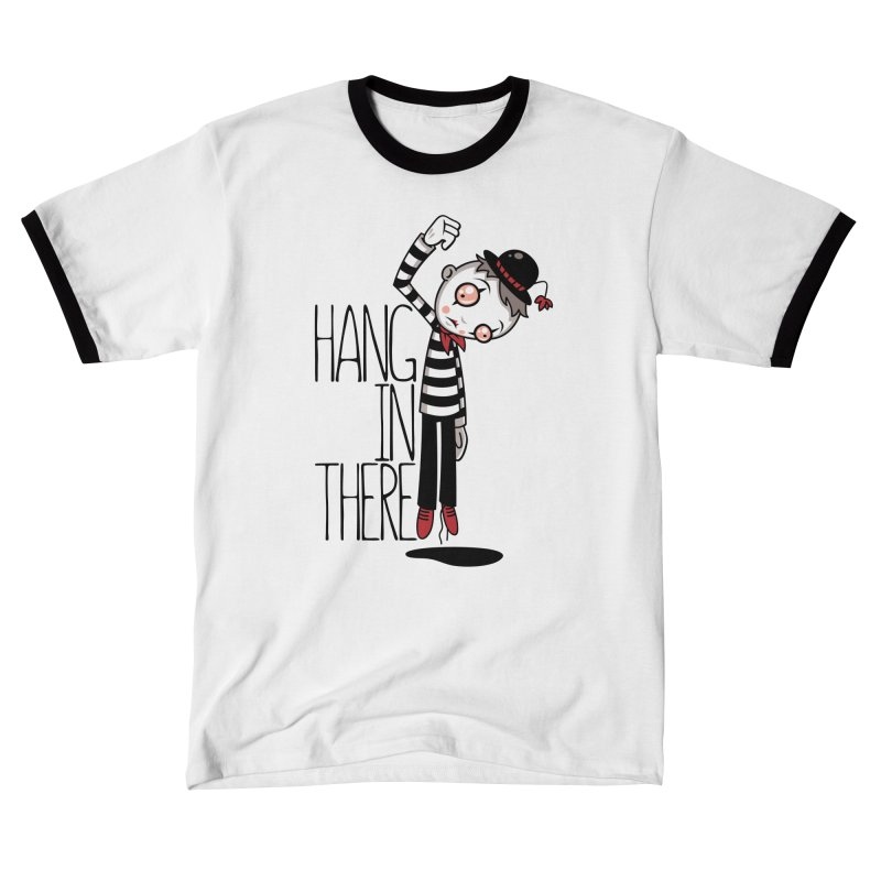 Hang In There Mime Women's T-Shirt by Fizzgig's Artist Shop