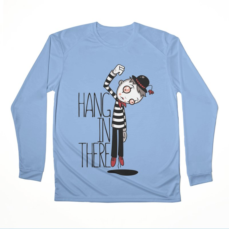 Hang In There Mime Women's Longsleeve T-Shirt by Fizzgig's Artist Shop