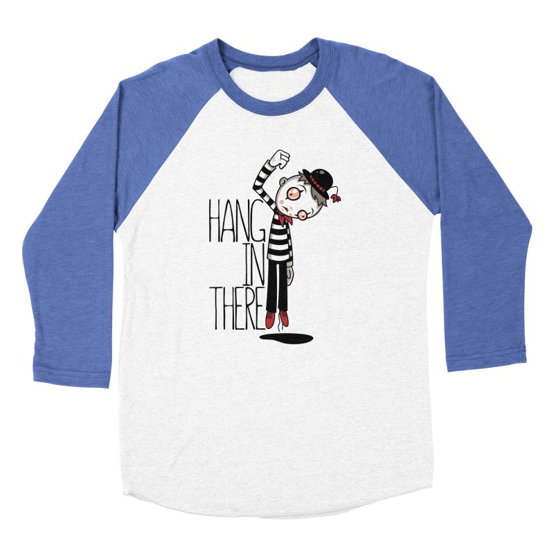 Hang In There Mime Women's Baseball Triblend Longsleeve T-Shirt by Fizzgig's Artist Shop