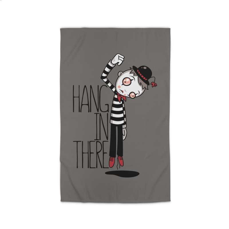 Hang In There Mime Home Rug by Fizzgig's Artist Shop