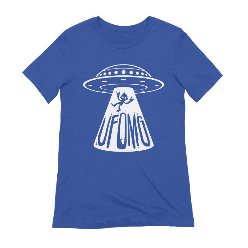 UFOMG Women's Extra Soft T-Shirt by Fizzgig's Artist Shop