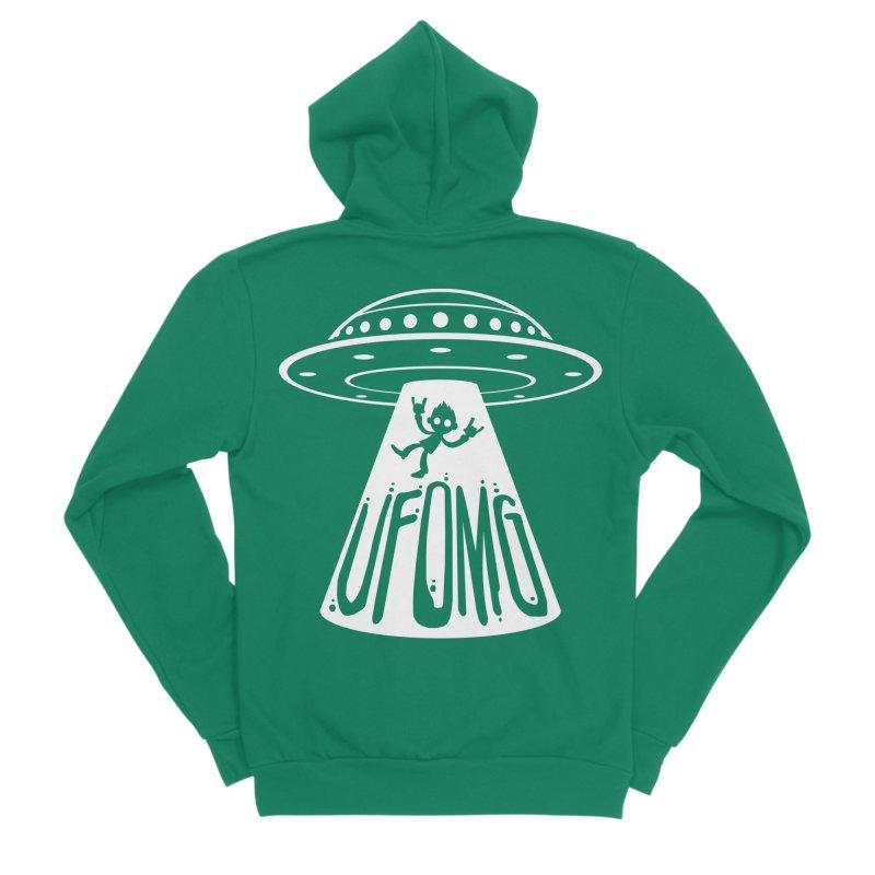 UFOMG Men's Sponge Fleece Zip-Up Hoody by Fizzgig's Artist Shop