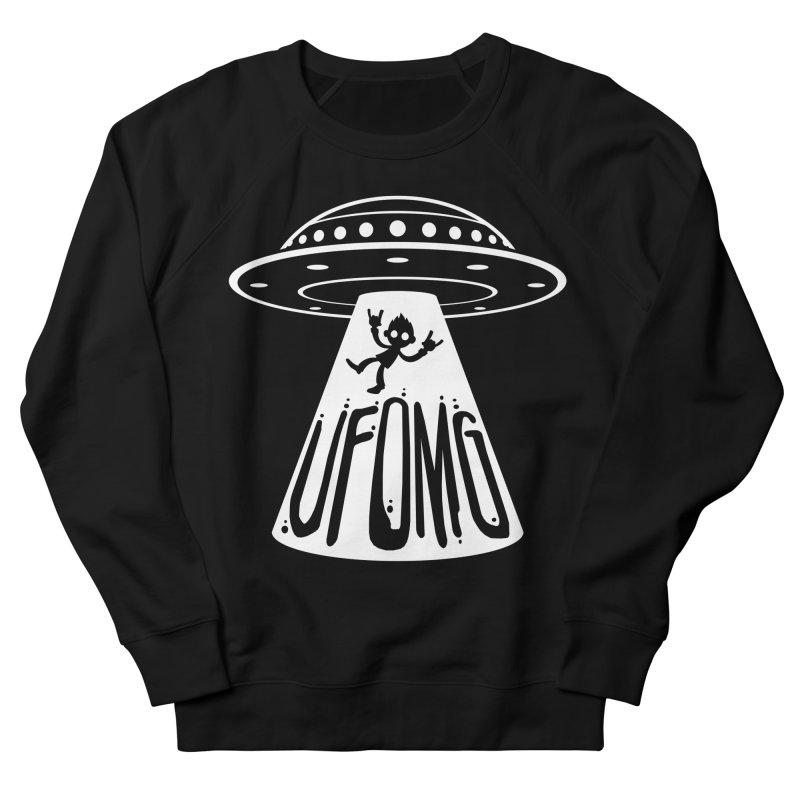 UFOMG Men's French Terry Sweatshirt by Fizzgig's Artist Shop
