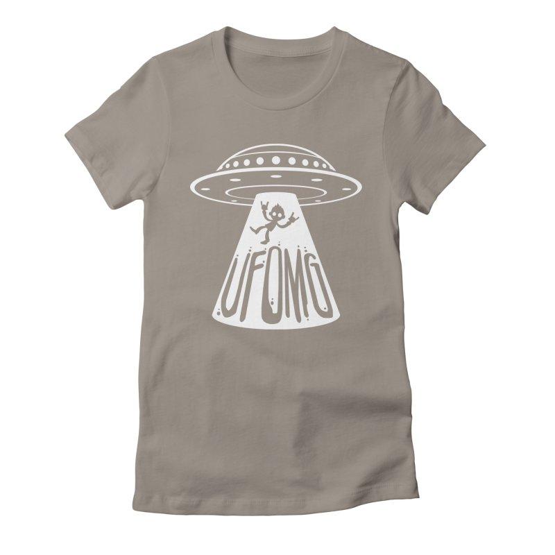 UFOMG Women's Fitted T-Shirt by Fizzgig's Artist Shop