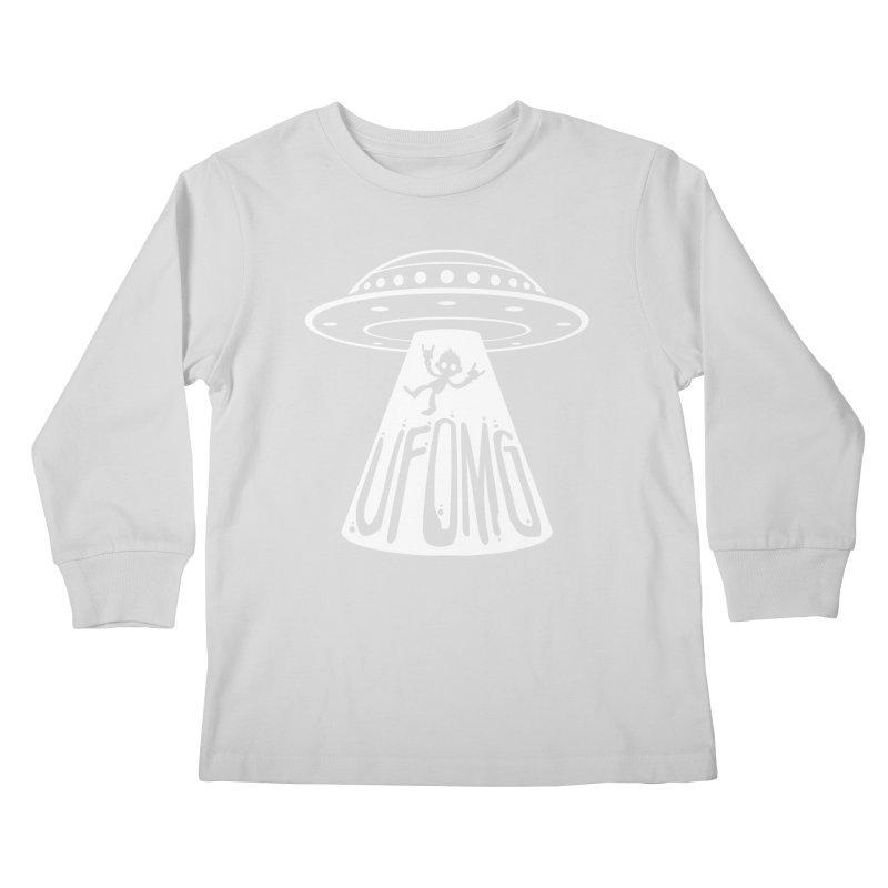 UFOMG Kids Longsleeve T-Shirt by Fizzgig's Artist Shop