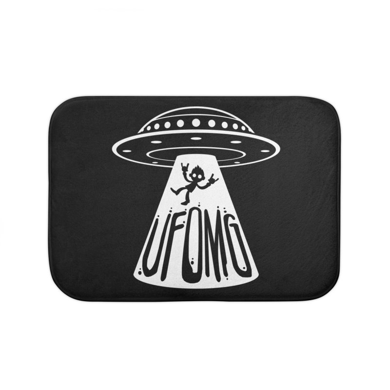 UFOMG Home Bath Mat by Fizzgig's Artist Shop