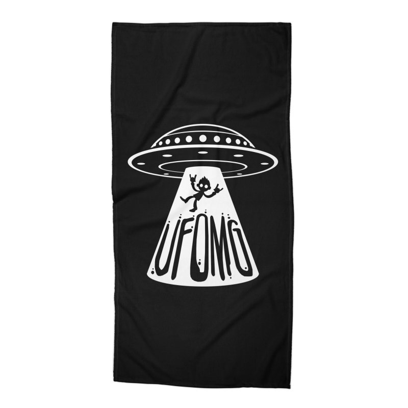 UFOMG Accessories Beach Towel by Fizzgig's Artist Shop