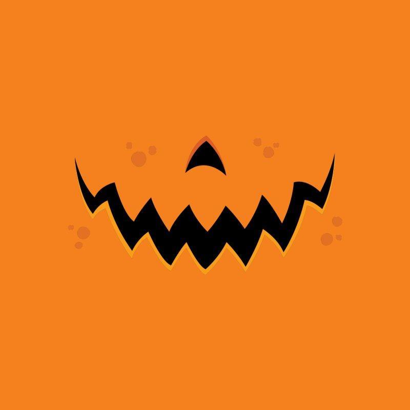 Crazy Pumpkin Jack-O-Lantern Mouth Home Blanket by Fizzgig's Artist Shop