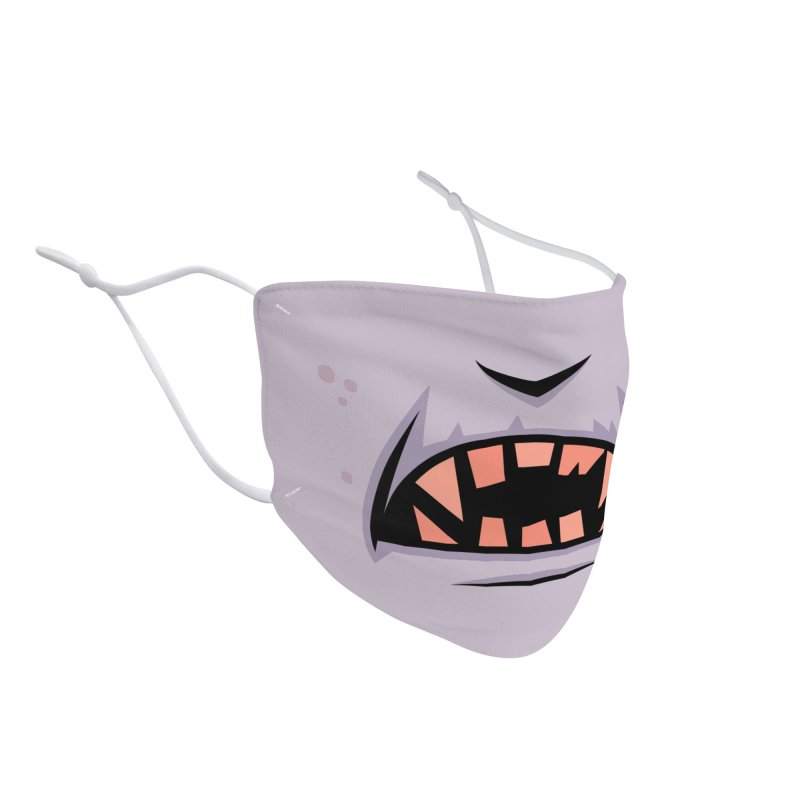 Creepy Count Dracula Vampire Mouth Accessories Face Mask by Fizzgig's Artist Shop