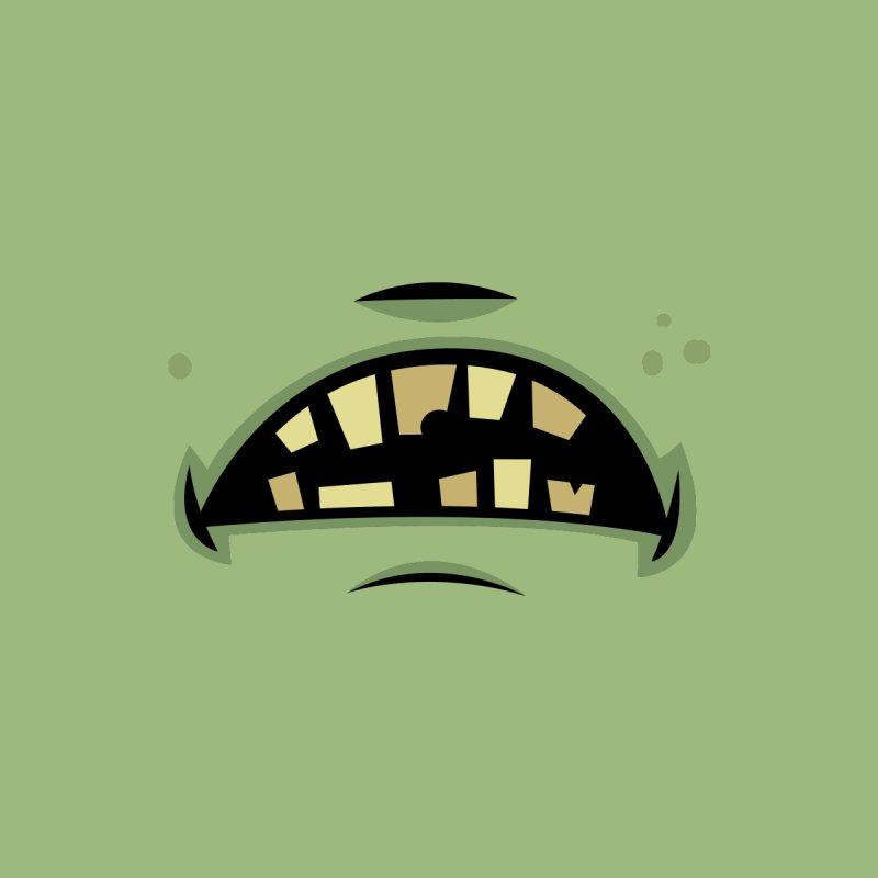 Zombie Frankenstein Monster Mouth Home Blanket by Fizzgig's Artist Shop