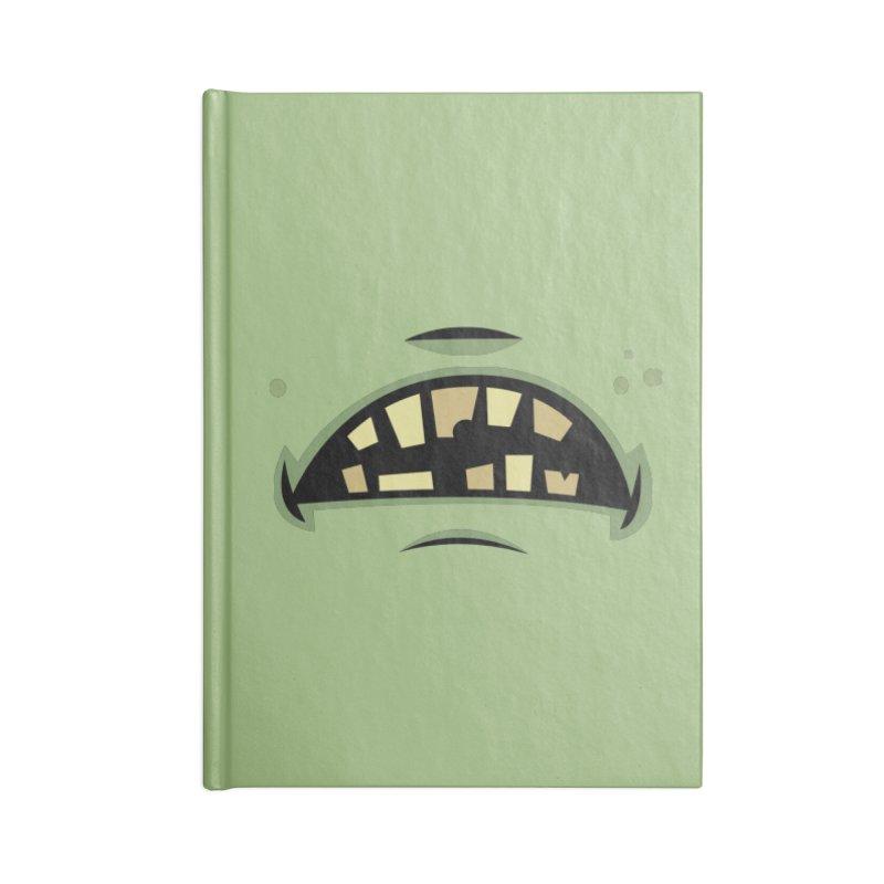 Zombie Frankenstein Monster Mouth Accessories Notebook by Fizzgig's Artist Shop