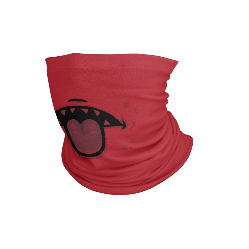 Evil Demon Mouth with Tongue Accessories Neck Gaiter by Fizzgig's Artist Shop