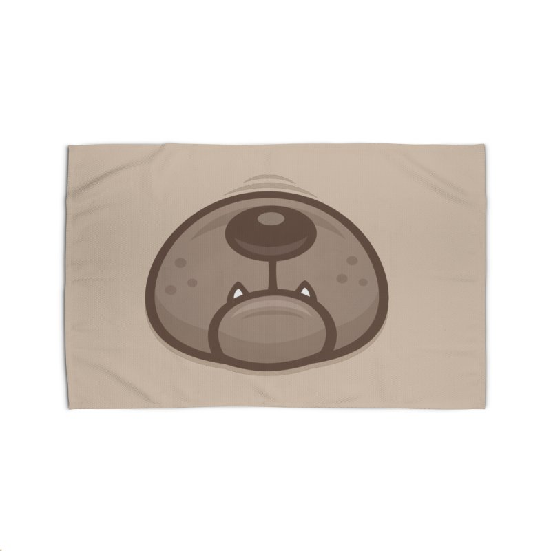 Pug Puppy Dog Snout and Mouth Home Rug by Fizzgig's Artist Shop