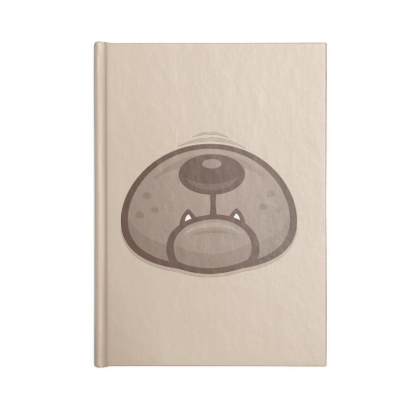 Pug Puppy Dog Snout and Mouth Accessories Notebook by Fizzgig's Artist Shop