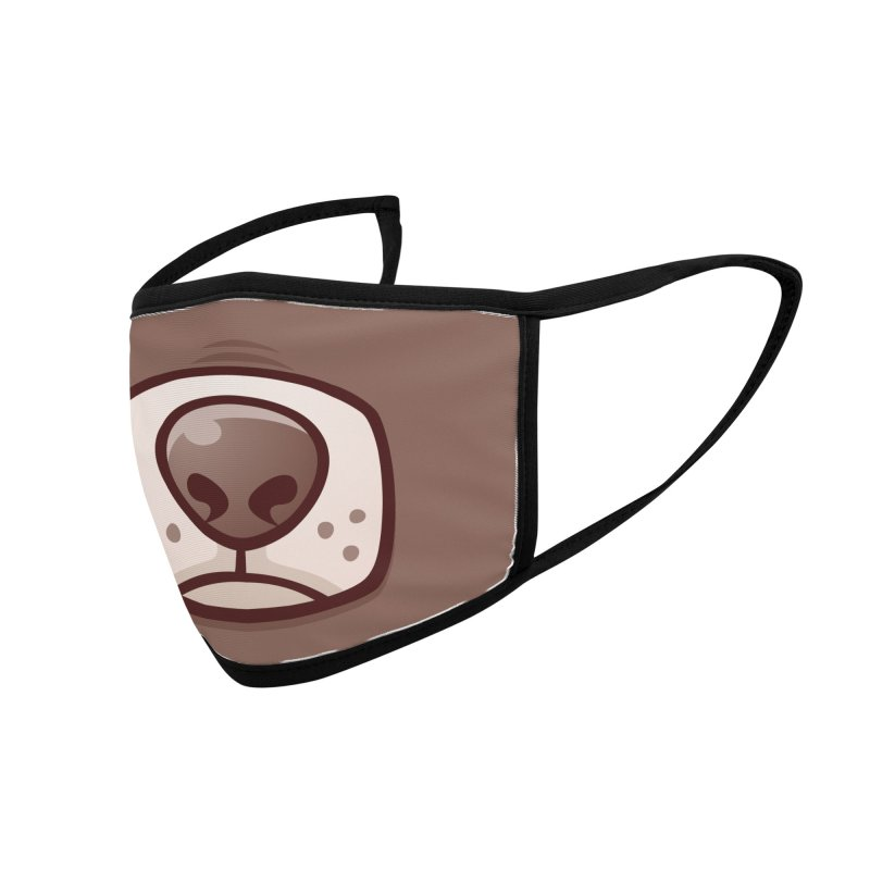 Boston Terrier Puppy Dog Snout and Mouth Accessories Face Mask by Fizzgig's Artist Shop