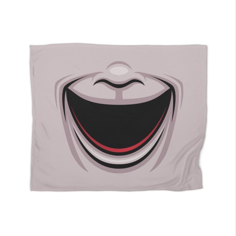 Comedy Theater Mask Home Blanket by Fizzgig's Artist Shop