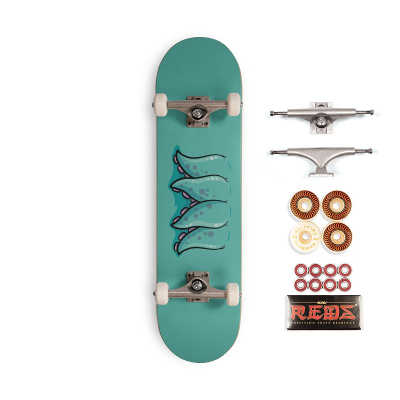 Cthulhu Monster Tentacle Mouth Accessories Skateboard by Fizzgig's Artist Shop